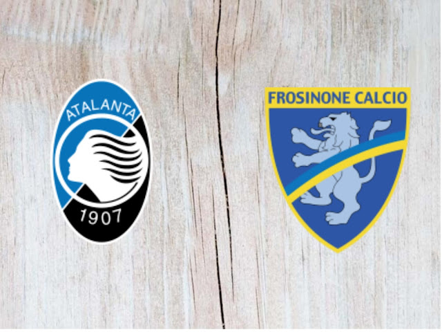 Atalanta vs Frosinone  - Highlights - 20 August 2018