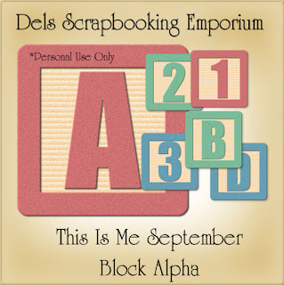 This Is Me September Block Alpha