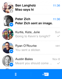 Facebook messenger đuôi jar và jad