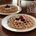 Gluten Free Waffles with Lemon Cream Cheese Topping #WaffleWeek2017