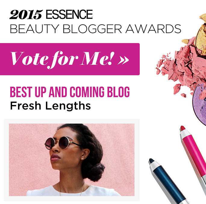 2015 Essence Beauty Blogger Awards - I've been nominated!