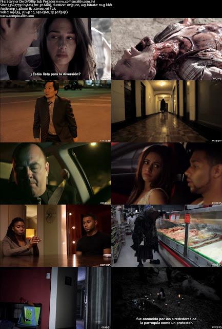 Scary or Die DVDRip Subtitulos Español Latino Película 2012