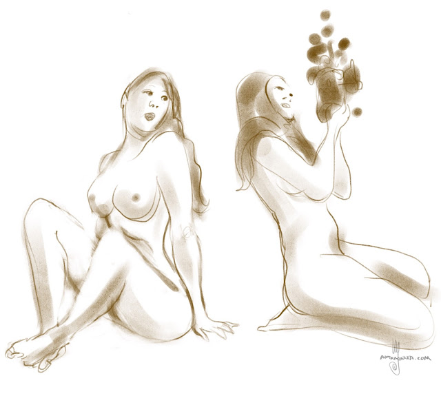 Lifedrawing By Ulf Artmagenta
