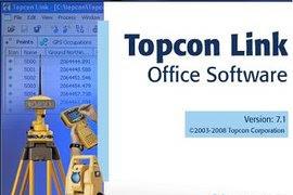 Topcon link v8.2 untuk transfer file dari TS TOPCON ke PC/laptop