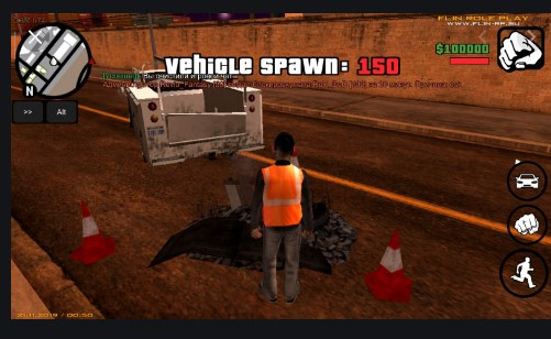 Grand Theft Auto: SAMP by Flin RP Apk Free on Android Game Download
