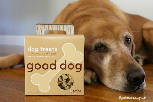 Sojos good dog shepherd's pie flavor dog treats