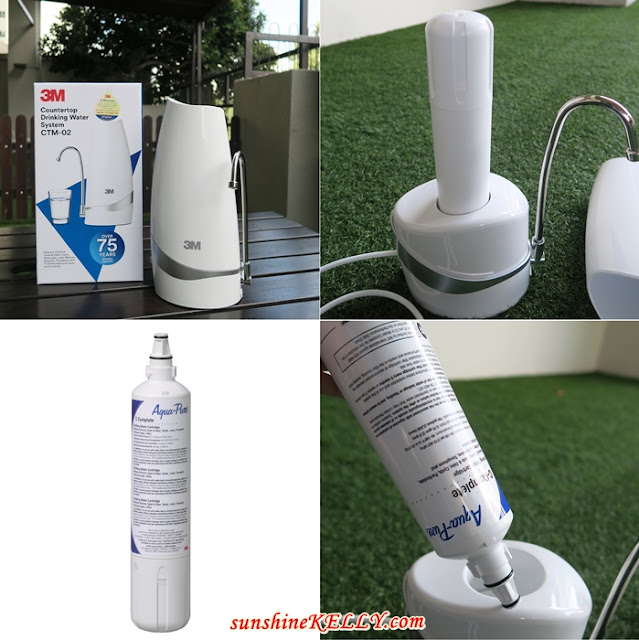 Unboxing 3M CTM-02 Countertop Drinking Water System, 3M Malaysia, 3M products, 3M water filter, 3M