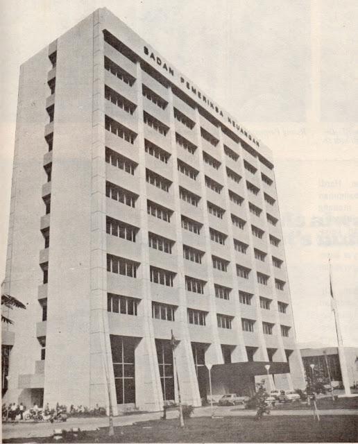 gedung bpk awal dibangun 1979