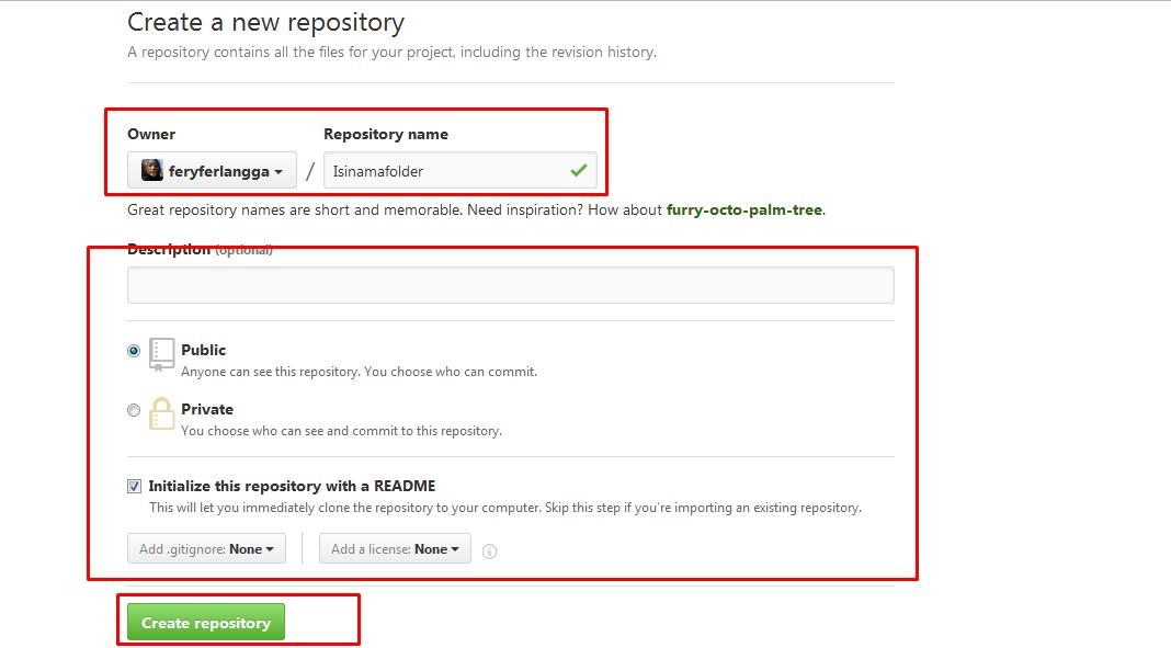 Upload File HTML di GITHUB