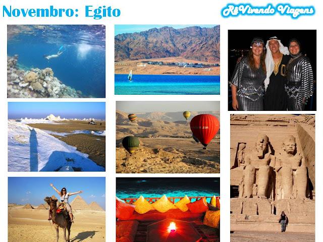 Egito novembro