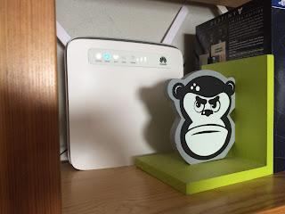 huawei 4G-modeemi hyllyssä
