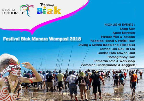 Festival Biak Munara Wampasi 2018