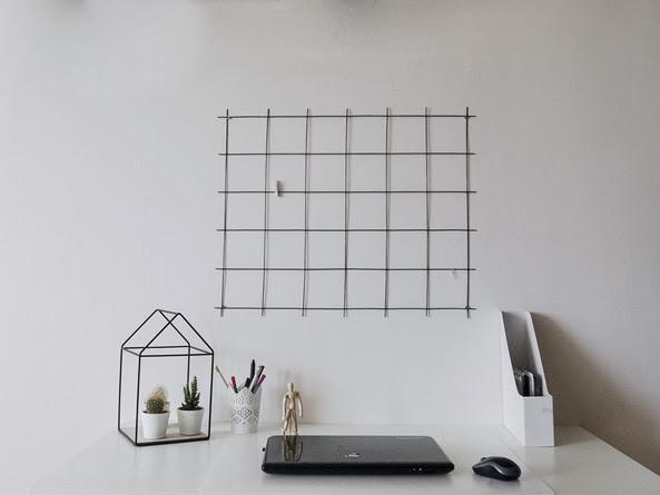 237. DIY: Kratka nad biurkiem - praktyczny organizer za kilka złotych