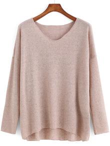 www.shein.com/V-Neck-Dip-Hem-Apricot-Sweater-p-228985-cat-1734.html?aff_id=2525