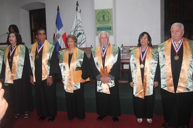 Rosario Espinal es investida como miembro Academia de Ciencias RD