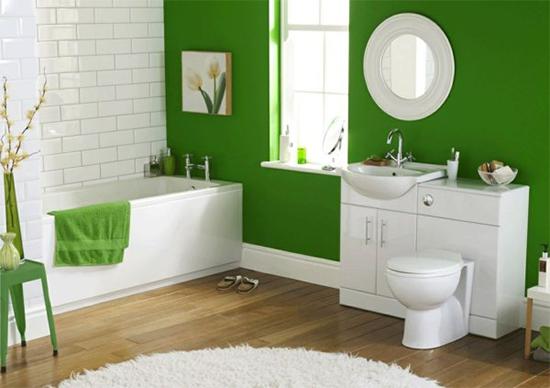 parede verde, green wall, parede colorida, pintar parede, a casa eh sua, acasaehsua, decoração, decor, banheiro