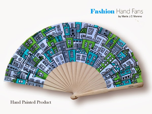 Stylist & modern ~ Fashion Hand  Fans
