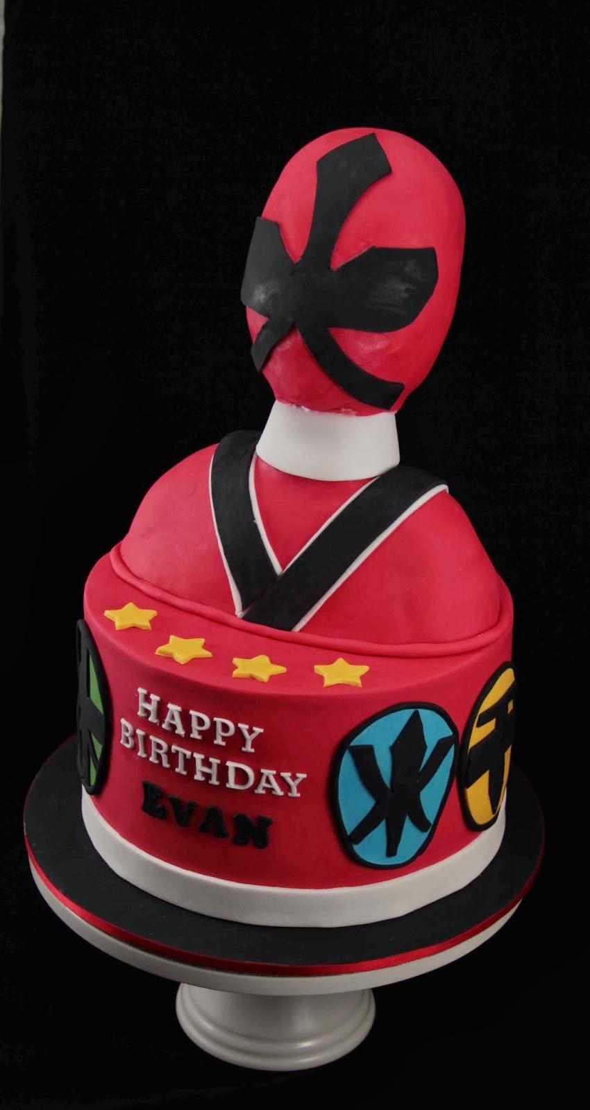 Bakerz Dad Power Rangers Cake