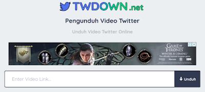 Twitter sekarang udah bisa untuk upload video sebagai status. Dan berikut cara download video twitter tanpa menggunakan bantuan aplikasi.