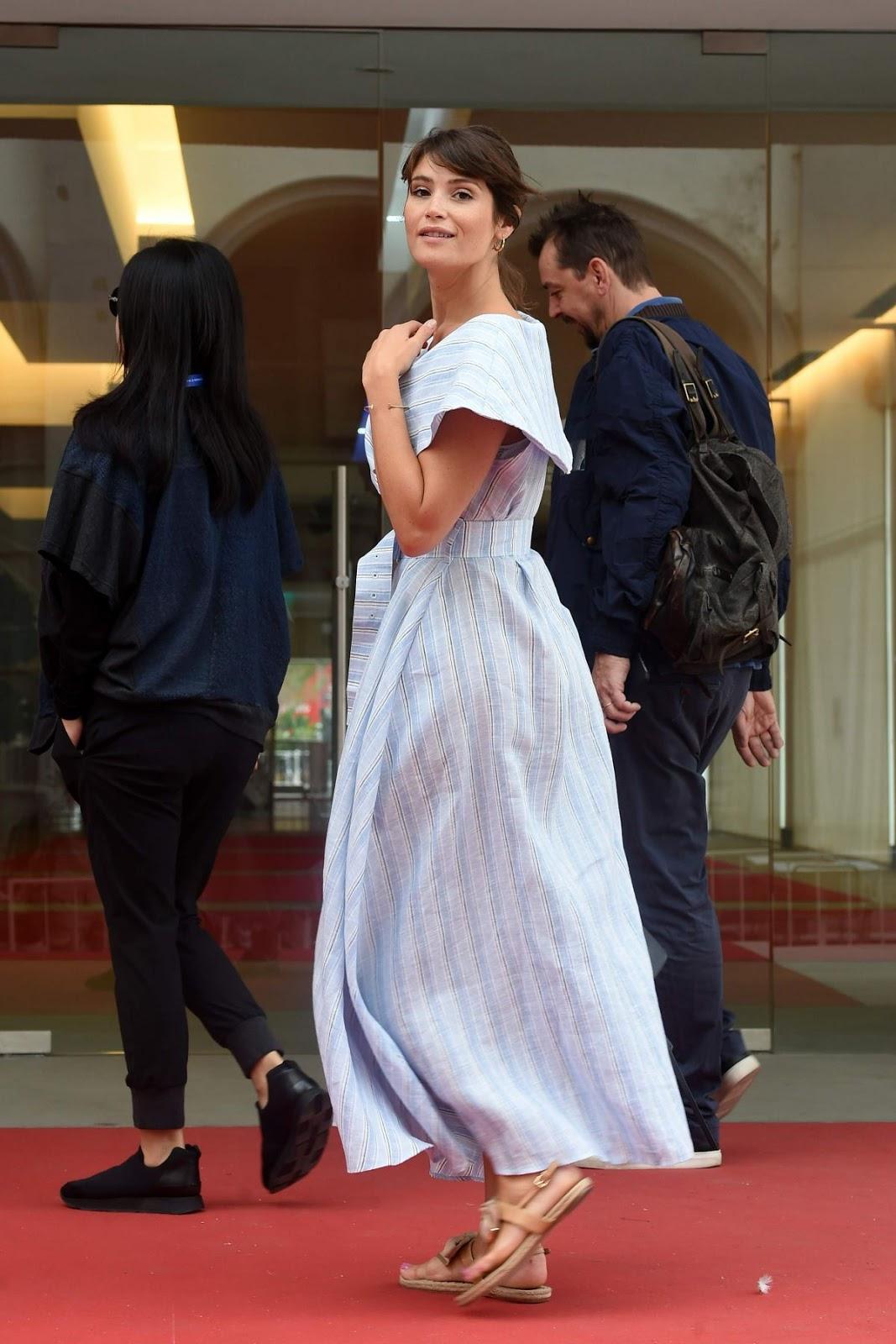 Gemma Arterton Out At 73rd Venice Film Festival Photos