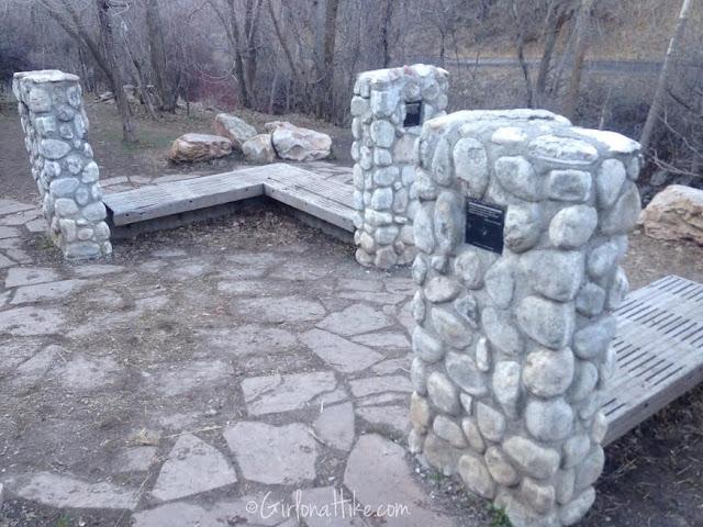 Memory Grove Park City Creek Canyon, Hiking in Utah with Dogs, Freedom Trail Utah