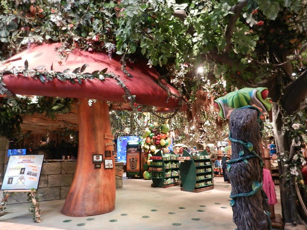 Rainforest Cafe Restaurant Toronto