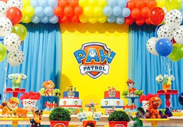 decoracao festa infantil patrulha canina : decoracao festa infantil patrulha canina:Estou Crescendo: Festa Patrulha Canina, confira as dicas de