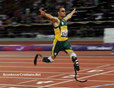 Atleta cristiano Oscar Pistorius