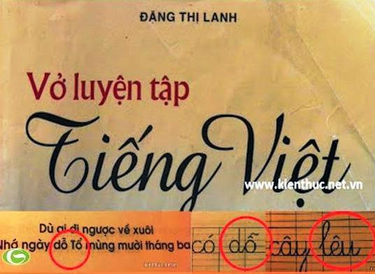 Viết sai chính tả tiếng Việt