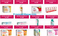 Logo Buoni sconto in Farmacia: stampa 32 coupon Unidea ( dentifrici, collutori, fazzoletti, spazzolini e non solo)