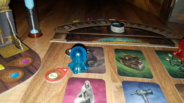 Mysterium Review weapon cards