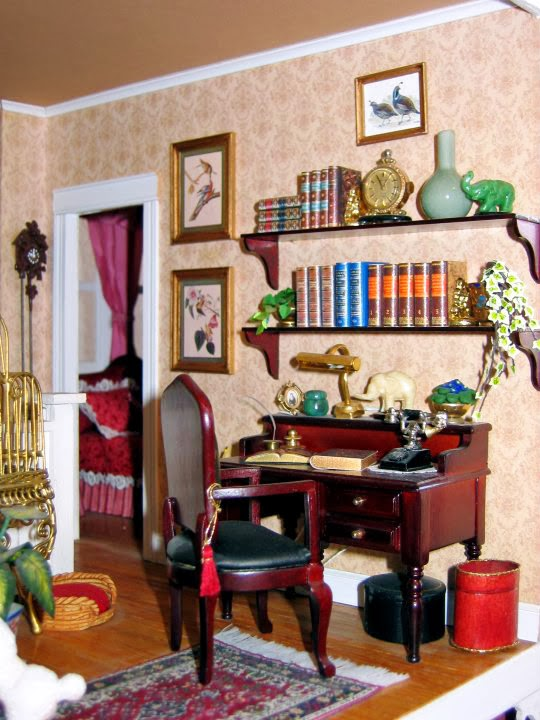 dollhouse library