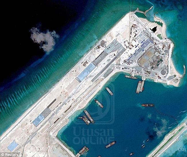 Kejadahnya China Tambah Infrastruktur Di Kepulauan Spratly
