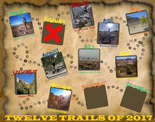 Twelve Trails of 2017 - October