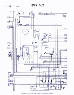 Automotive Cooling Fan Relay Wiring Diagram Lutron 3 Way Dimmer 1979 Mg Mgb | Auto Diagrams