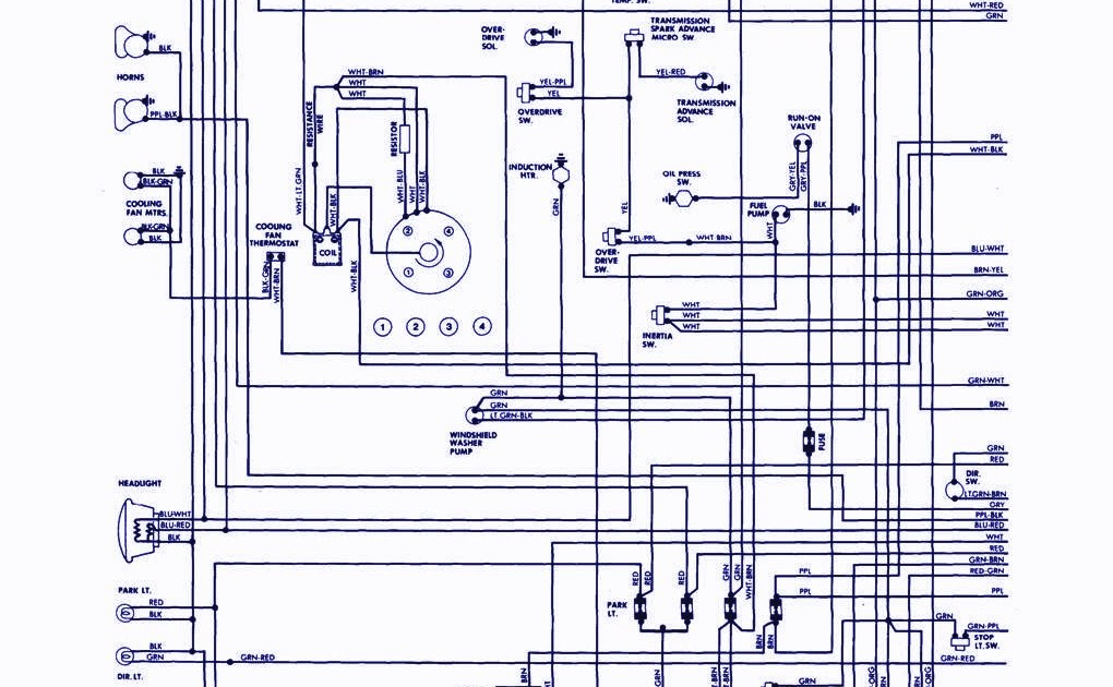 1979 MG MGB Wiring Diagram | Electical Circuit