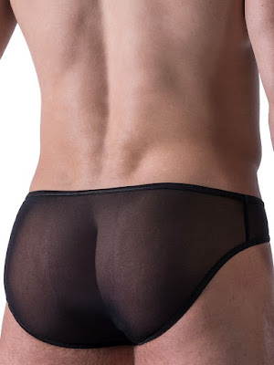 Manstore Micro Brief M522 Underwear Black Back Detail Gayrado Online Shop