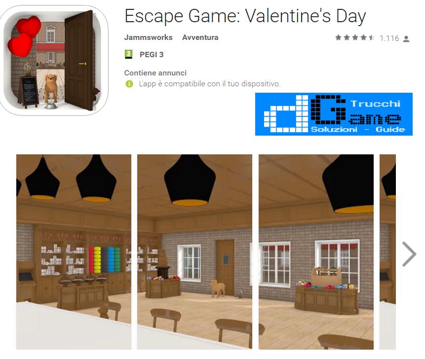 Soluzioni Escape Game Valentine's Day livello 1 2 3 4 5 6 7 8 9 10 | Trucchi e  Walkthrough level