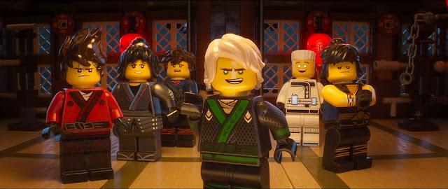 ninjago ninjas team members movie still