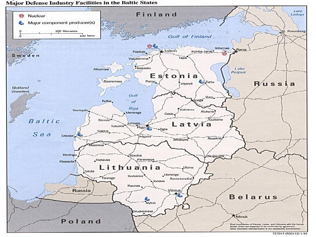 Baltic States Map Europe | Usa Map 2018