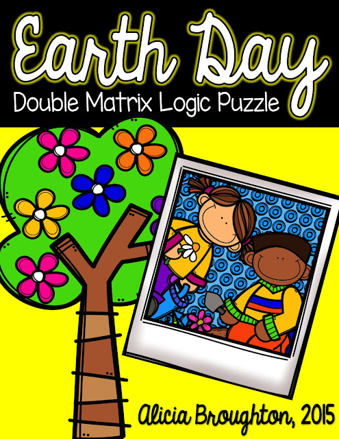 Are you looking for some higher level thinking activity to celebrate Earth Day?