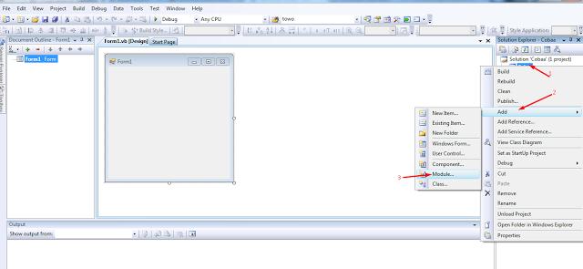 Membuat Koneksi Di VB.Net Dengan Database SQL Server