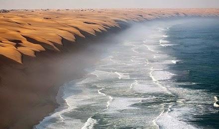 Εκεί που η έρημος συναντά τη θάλασσα!