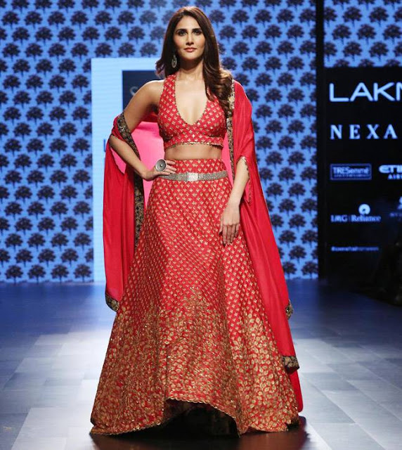 Vaani Kapoor at Lakme Fashion Week 2017