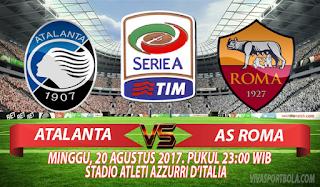 Prediksi Atalanta vs AS Roma 20 Agustus 2017