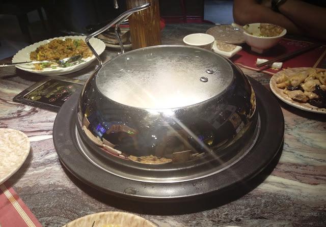【食】不用粥底用湯底*土瓜灣 金御膳正宗海鮮蒸氣石鍋