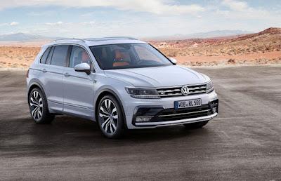 Το VW Tiguan κέρδισε το Γερμανικό Βραβείο Σχεδιασμού 2017