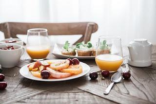 buffet libre hotel, desayuno hotel, fruta