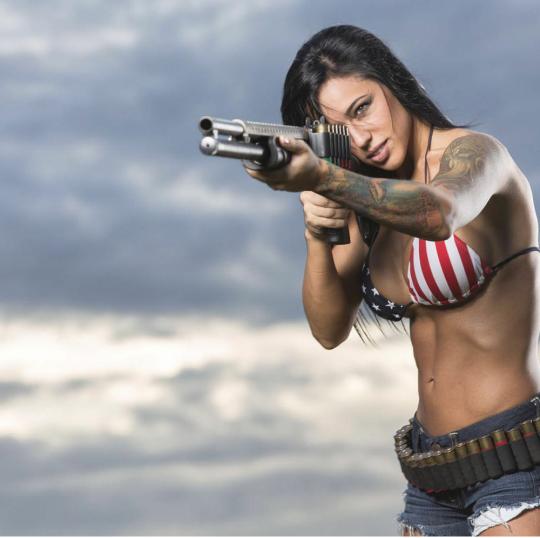 Stars And Stripes Forever Guns Girls