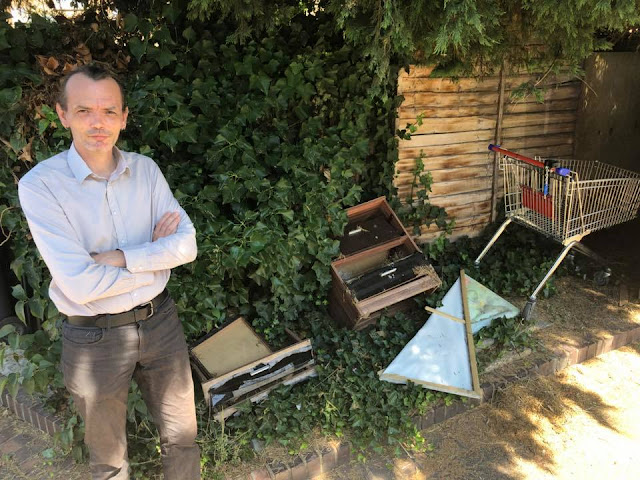 Alex is committed to stamping out fly-tipping in Orton